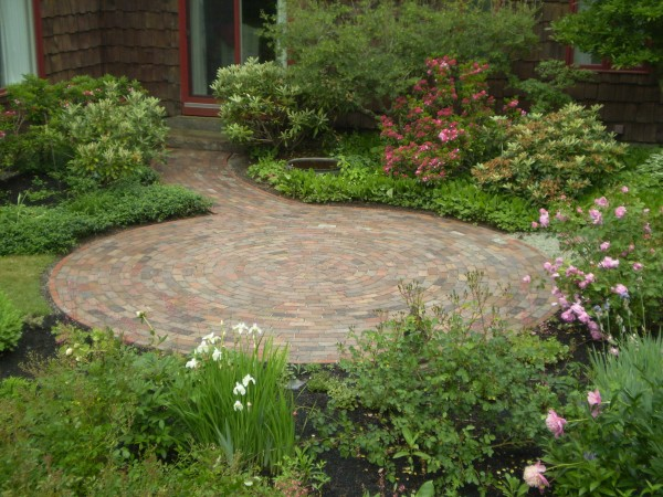 Recycled attractive brick patio recycled things image 3761667 by recycledthings on - Reclaimed brick design ideas ...