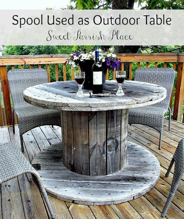 Upcycled Unique Patio Furniture Ideas Recycled Things Image
