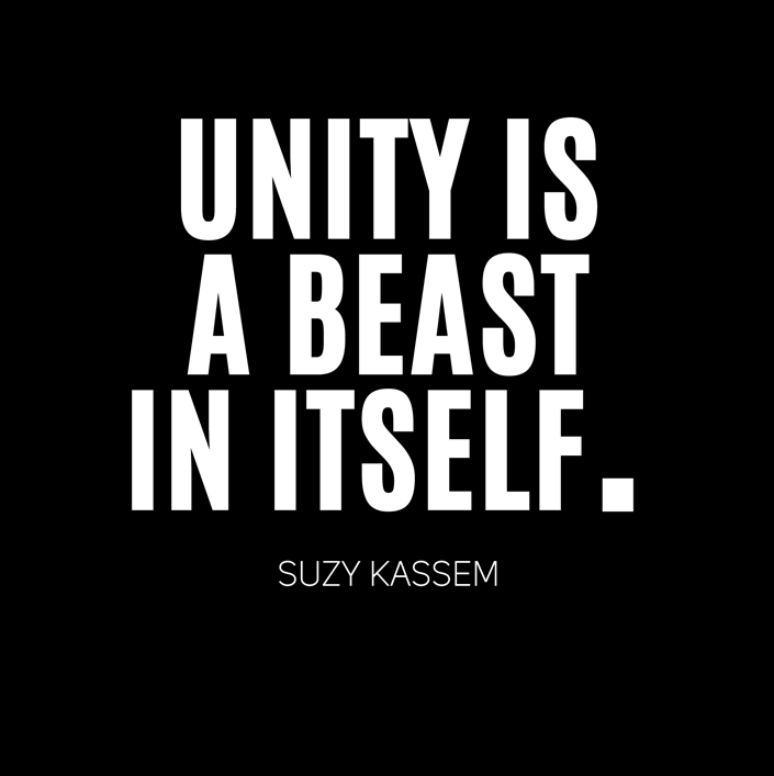 team, united, unity and suzy kassem