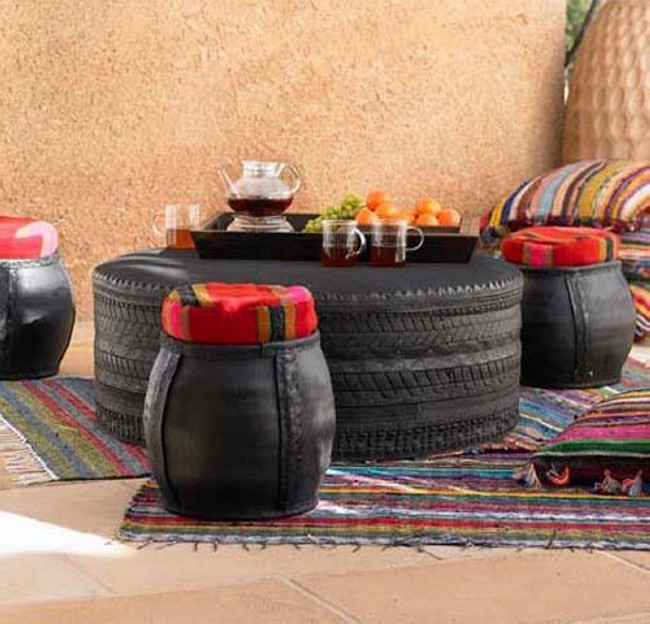 furniture, Recycled Tires, Old Tires Recycling and Recycled Tires Furniture
