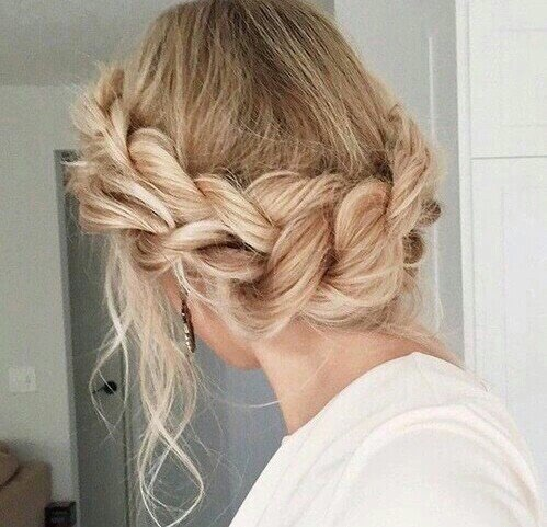 aesthetic, alternative, blonde, bobo, girl, grunge, hair, hipster, indie, pale, photography, retro, tumblr, vintage, crown braid