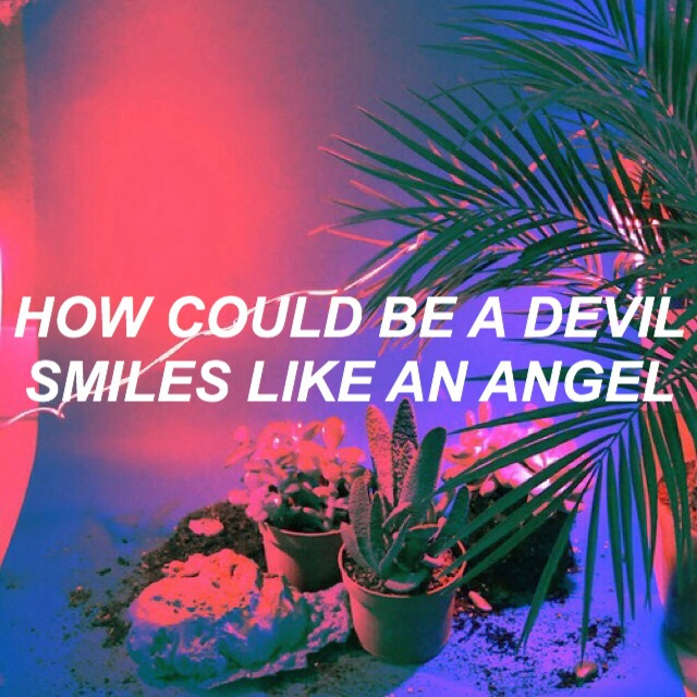 angel, devil, electric and glow